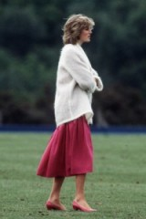 Diana's effortless style