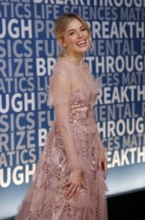 Sienna Miller attending Breakthrough Prize at Nasa Ames Research Center in Mountain View, California, 4 December 2016