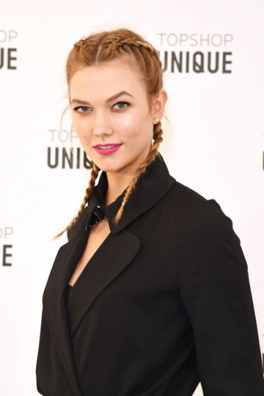Karlie Kloss's mini braids