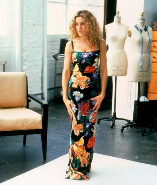 Carrie in Dolce & Gabbana ~ Sex and the City fashion
