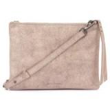 Mint Velvet Lottie Nude Leather Metallic Across Body Bag ~ light pink metallics ~ crossbody bags