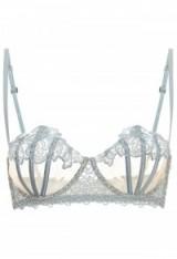 LA PERLA MACRAME TALE MACRAMÉ AND TULLE CARIOCA BRA AZA065 ~ luxury lingerie ~ luxe bras ~ intimates