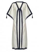 ANNA KOSTUROVA Sheika cotton-gauze long kimono. Oriental cover ups   pool side cover up   luxe kimonos
