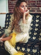 Olivia Palermo for ELLE Spain April 2017 issue. Photographed by Mario Sierra and styled by Sylvia Montoliú…stunning!