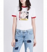 STEVE J & YONI P Steve J & Yoni P x Marvel cotton-jersey T-shirt