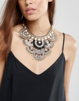 ALDO Multi Bead Statement Necklace ~ statement necklaces ~ beaded chunky fashion jewellery ~ bling accessories