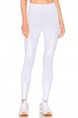 KORAL FORGE LEGGING. White stretch fit leggings   sports luxe   sportwear   skinny pants