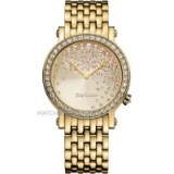JUICY COUTURE LADIES' LA LUXE WATCH ~ crystal embellished watches ~ bling accessories