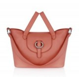 meli melo rose thela medium persimonio bag – luxe style leather handbags