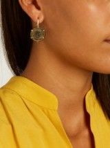 DUBINI Ancient diamond, bronze & yellow-gold earrings