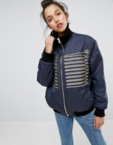 ASOS Bomber Jacket with Historical Trims