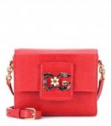 DOLCE & GABBANA DG Millennials Mini red leather shoulder bag
