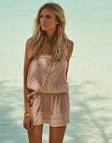 MELISSA ODABASH Adela Mini Dress – Sand
