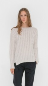 Nili Lotan Bailey Cashmere Cable Sweater