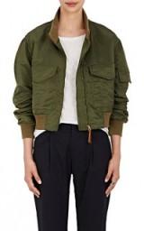 NILI LOTAN McGuire Insulated Bomber Jacket