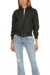 NSF Neil Bomber Jacket | black quilted weekend jackets