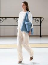 LEMAIRE Wide-leg side-pocket cotton trousers