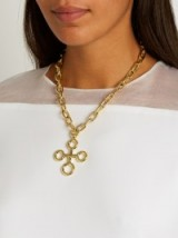 CHUFY X Aracano Southern Cross gold-plated necklace ~ statement necklaces