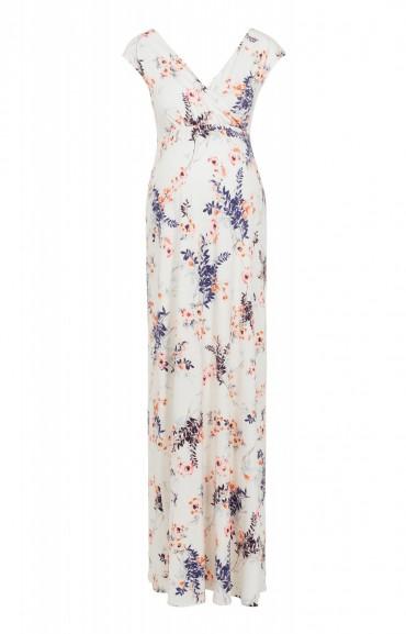 Tiffany Rose ALANA MAXI DRESS JAPANESE GARDEN ~ long maternity dresses ~ pregnancy fashion