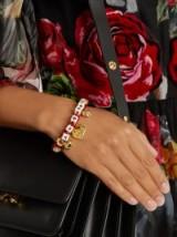 DOLCE & GABBANA Amore-embellished bracelet