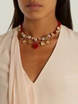 DOLCE & GABBANA Amore-embellished necklace
