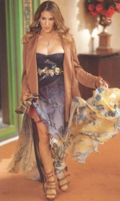 Carrie Bradshaw in Pucci - flipped
