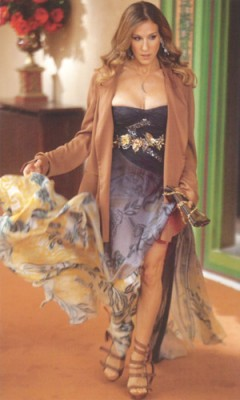 Carrie Bradshaw in Pucci