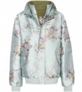 FENTY BY RIHANNA Reversible bomber jacket | satin floral jackets