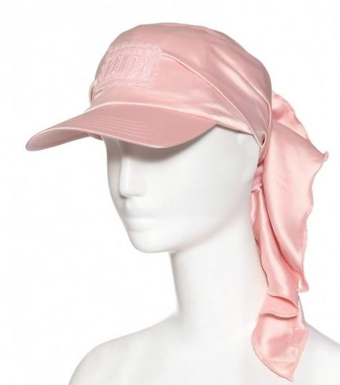 FENTY BY RIHANNA Satin bandana cap – pink caps  681a383b91f