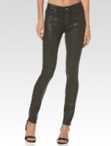 PAIGE HIGH RISE EDGEMONT – DEEP JUNIPER LUXE COATING #skinny #jeans