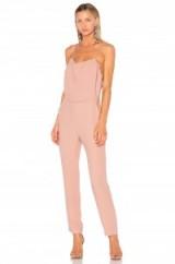 IRO HATFORD JUMPSUIT   pink thin strap jumpsuits