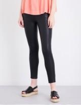J BRAND Alana skinny high-rise leather jeans