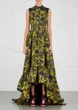 ERDEM Janelle floral jacquard gown