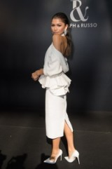 Zendaya at Couture Fashion Week in Paris, July 2017