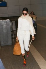 Kendall Jenner's relaxed travel style