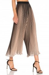KENDALL + KYLIE PLEATED PANT   floaty wide leg cropped trousers