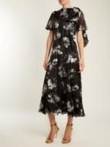 ERDEM Kirstie floral-print silk-chiffon dress