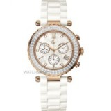 GC LADIES' DIVER CHIC CERAMIC CHRONOGRAPH DIAMOND WATCH – womens bling watches
