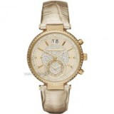 MICHAEL KORS LADIES' SAWYER CHRONOGRAPH WATCH -bling watches