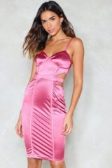 Nasty Gal Love is in the Air Satin Dress