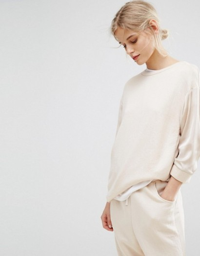 MAX&Co Dopo Luxury Sweat Co-ord Cream