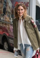 Olivia Palermo casual out in New York