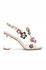 RAYE X REVOLVE amelia heel ~ clear floral slingback shoes