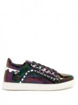 SOPHIA WEBSTER Riko low-top leather trainers | sports luxe sneakers