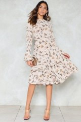 NASTY GAL Spring Street Floral Dress
