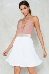 NASTY GAL Swing State High-Waisted Skirt