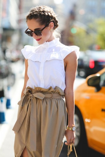 ruffles and braids…a perfect combination!