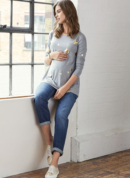 Isabella Oliver THE RELAXED MATERNITY JEAN ~ pregnancy jeans - flipped