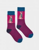 JOULES BRILLIANT BAMBOO SOCKS HARE / cute bunnies