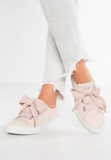 Bullboxer Trainers rose | light pink thick lace up sneakers